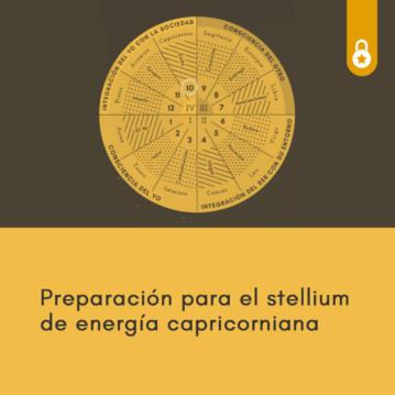 stellium de energía capricorniana