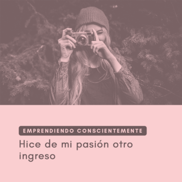 Emprendiendo Conscientemente: hice de mi pasión otro ingreso. Entrevista a Andrea Tagliaferro